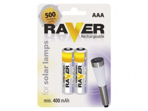Baterie AAA Raver Rechargeable FOR SOLAR LAMPS B7414 3.50zł./1szt.