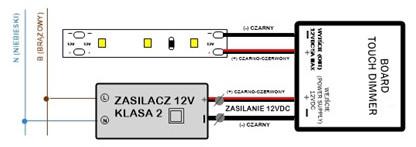 UL-BOARD schemat podłączenia