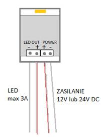 Schemat podłączenia UL-DOOR