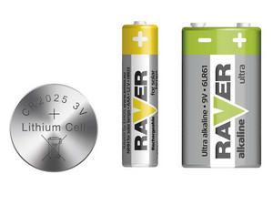 Baterie RAVER
