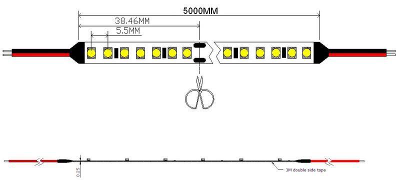 pasek led 24V DC