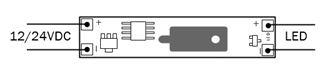 schemat podłączenia sterownika LED